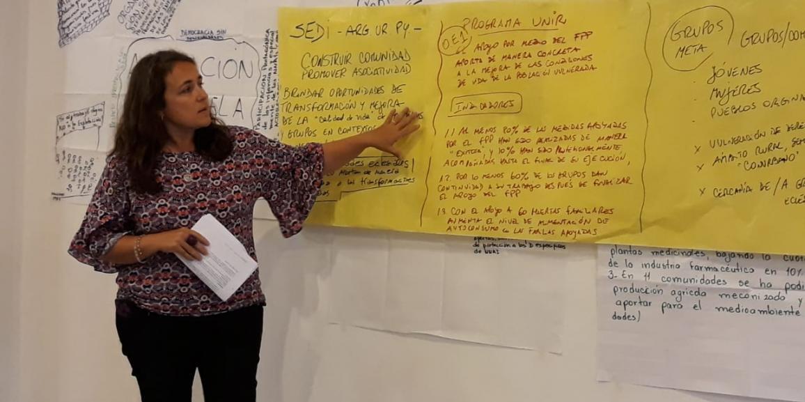 Intercambios Pan para el Mundo y copartes en la región