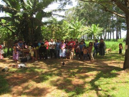 Mujeres indígenas Mbya Guaraní y sus Derechos