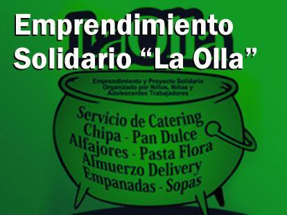 """Emprendimiento Solidario """"La Olla"""""""