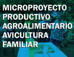 Microproyecto Productivo Agroalimentario AVICULTURA FAMILIAR