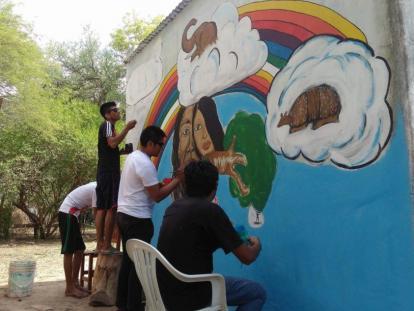 Cosmovisión Indígena en el arte de crear