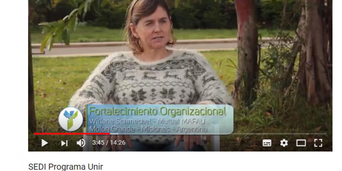 Mirá el video y conocé más sobre el Programa Unir