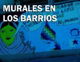 Murales en los barrios